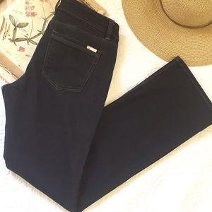 WHBM Black Boot Leg Jeans